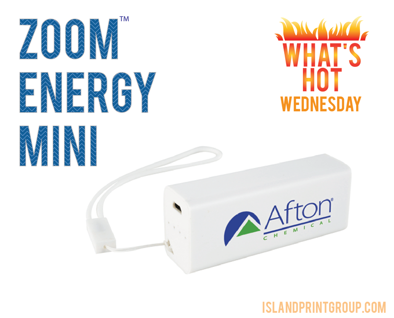 What's Hot Wednesday - Zoom Energy Mini - Island Business Print Group