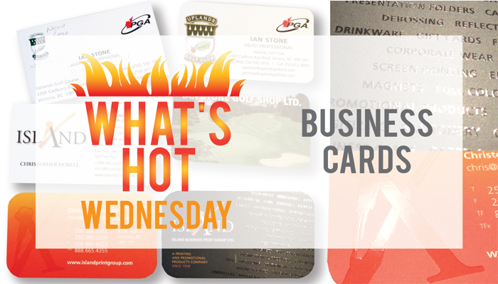 WHW - Business Cards - Island Business Print Group