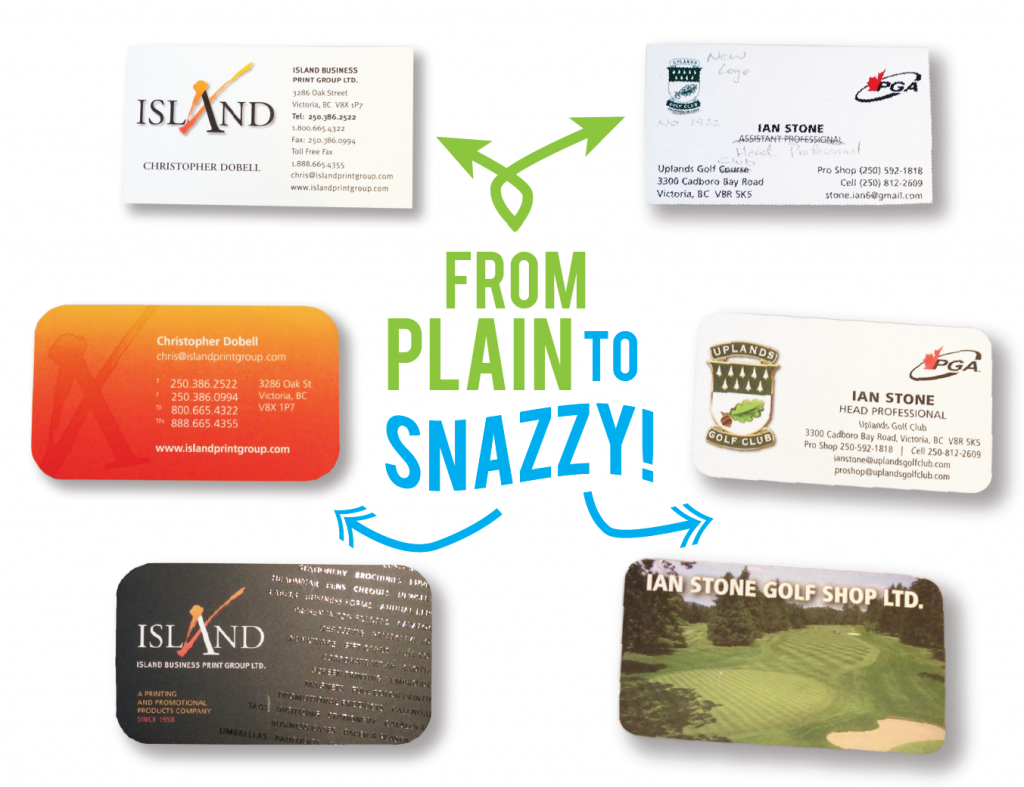 WHW - Business Cards - from plain to snazzy Island Business Print Group
