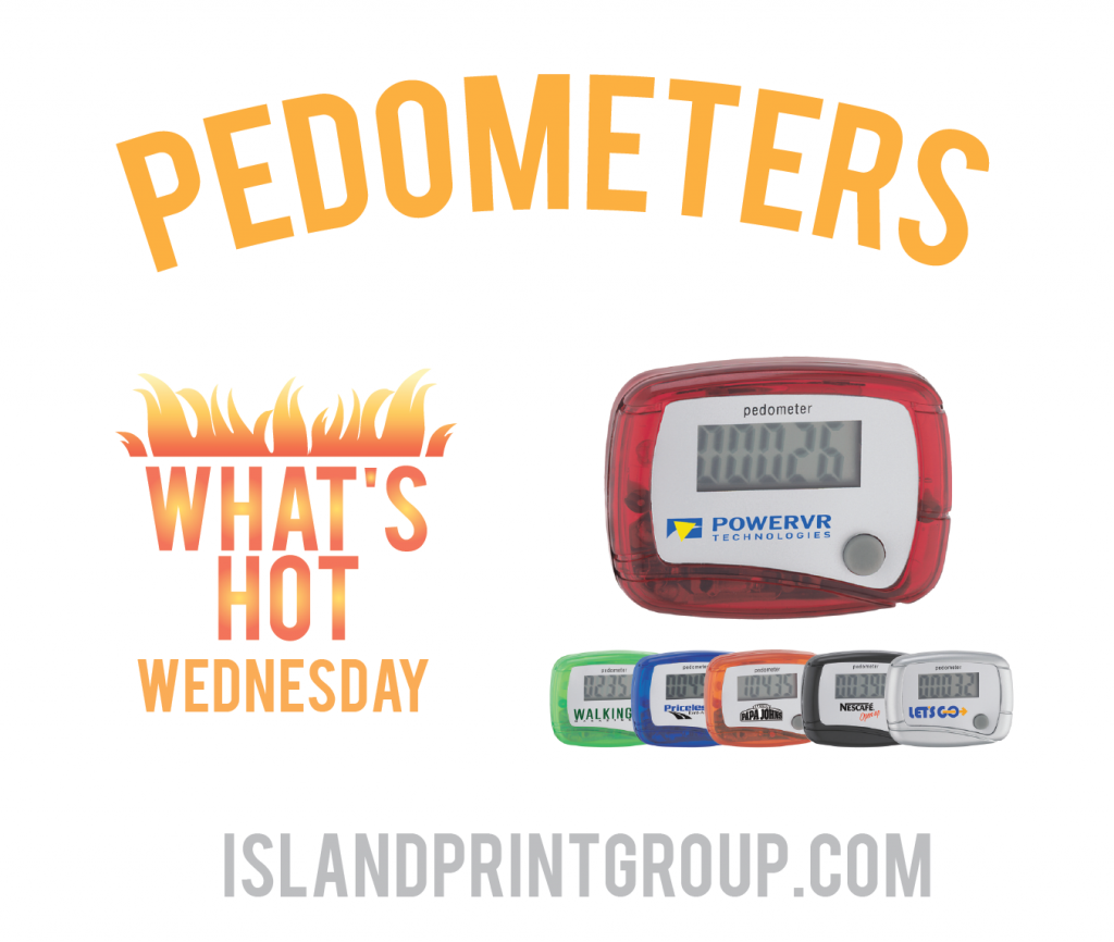 WHW - Pedometer - Island Busines Print Group Bulletline Canada