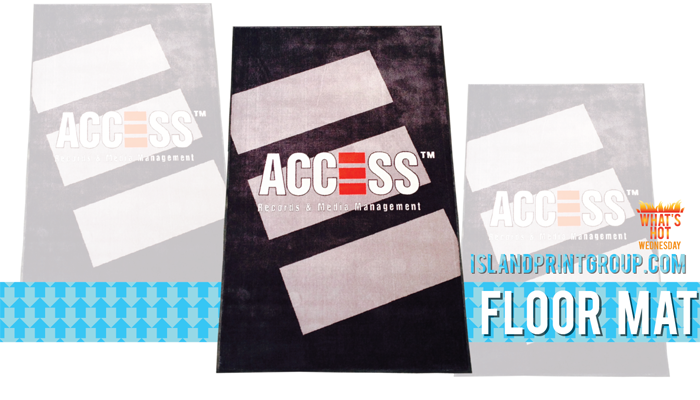 WHW - Floor Mat - Island Business Print Group