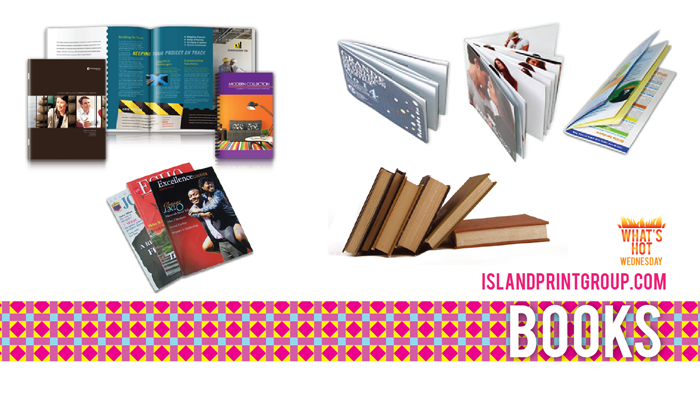 What's Hot Wednesday - Books- Island Business Print Group