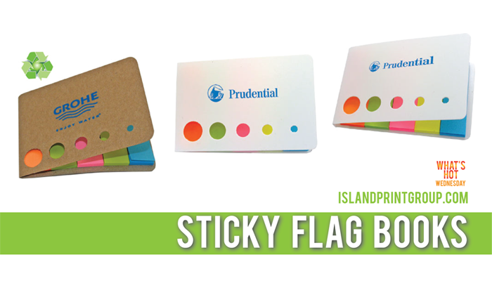 What's Hot Wednesday - Sticky Flag Books- Island Business Print Group