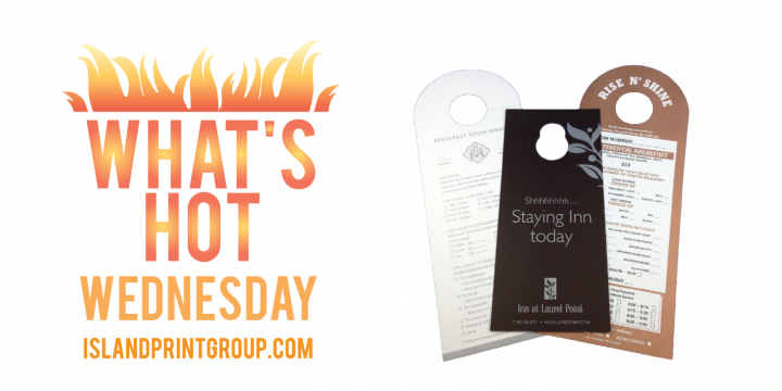 WHW - Door Hangers - Island Business Print Group