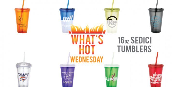 What's Hot Wednesday - 16 oz Sedici Tumblers - Island Business Print Group