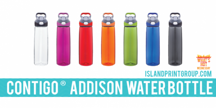What's Hot Wednesday - Addison Water bottle - Island Business Print Group