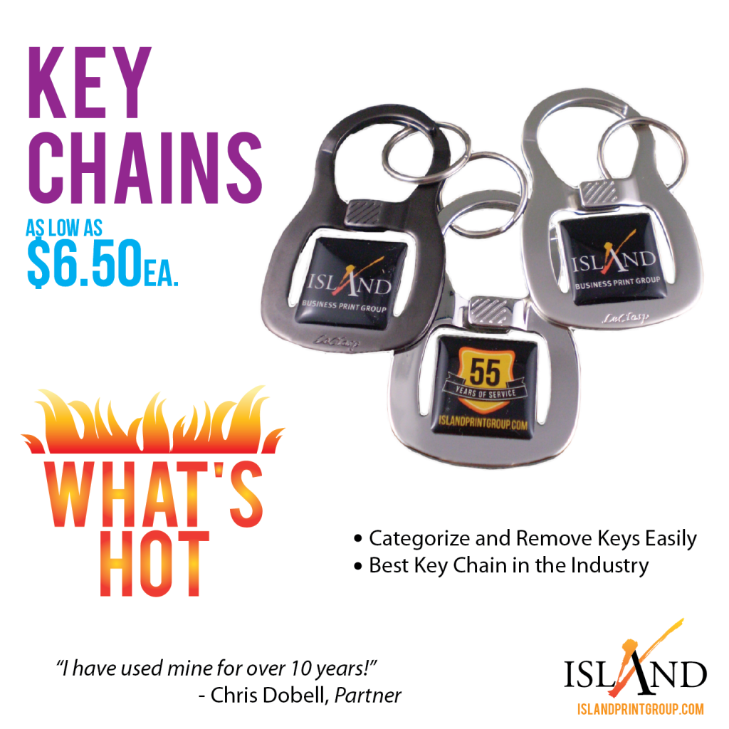 WHW - Key Chains - Island Business Print Group