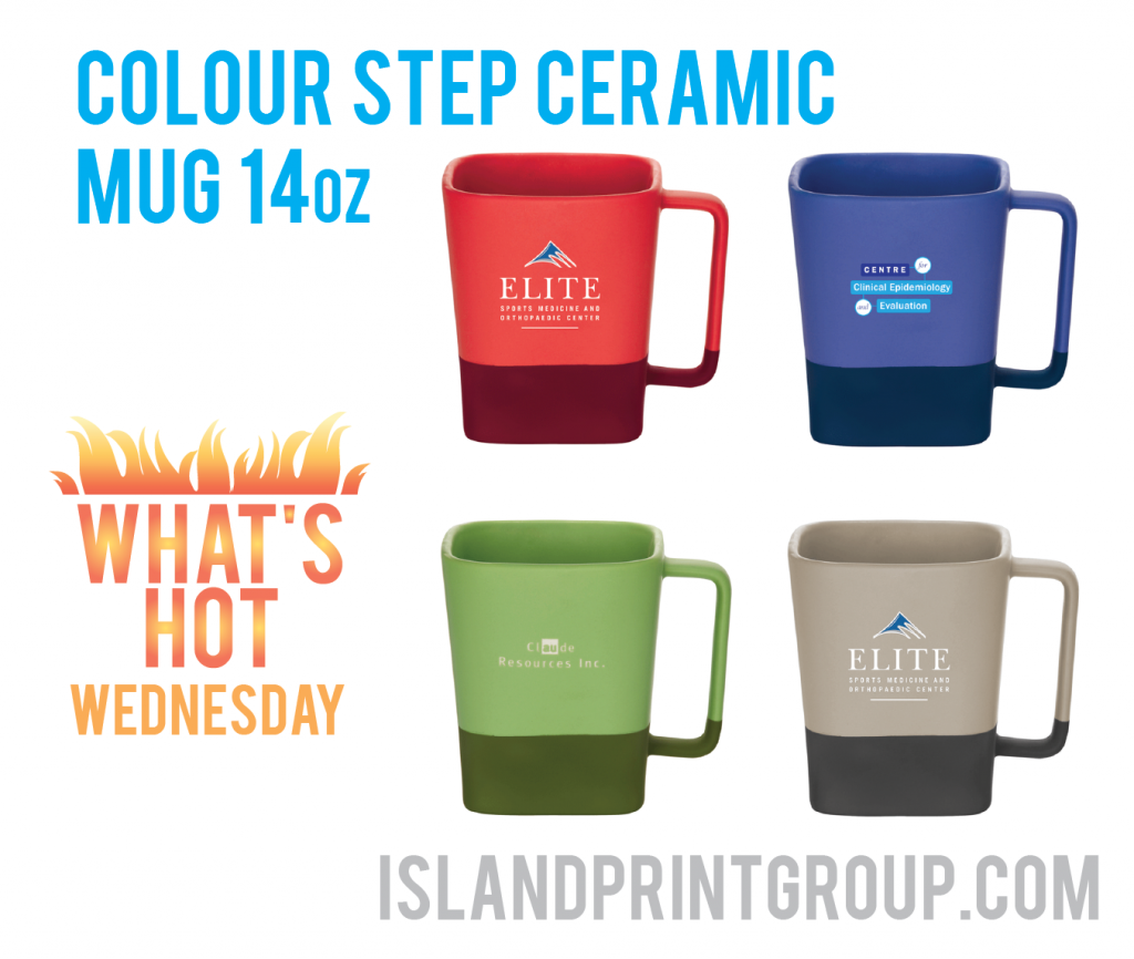 WHW - Color Step Ceramic Mug 14oz _ Island Business Print Group