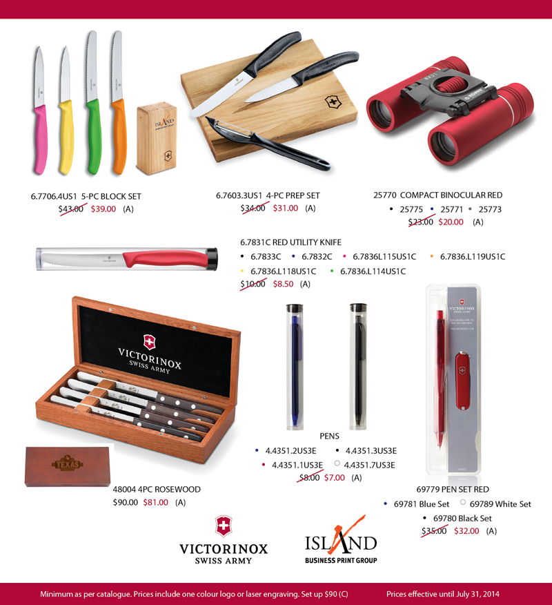 What's Hot Wednesday - Victorinox - Island Business Print Group
