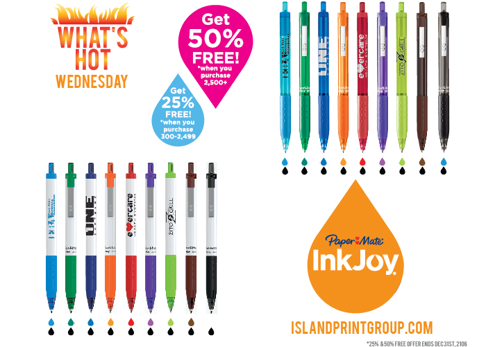 What's Hot Wednesday - Ink Joy - 2016