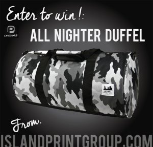 Island Business Print Group - Projekt All Nighter Duffel Bag contest