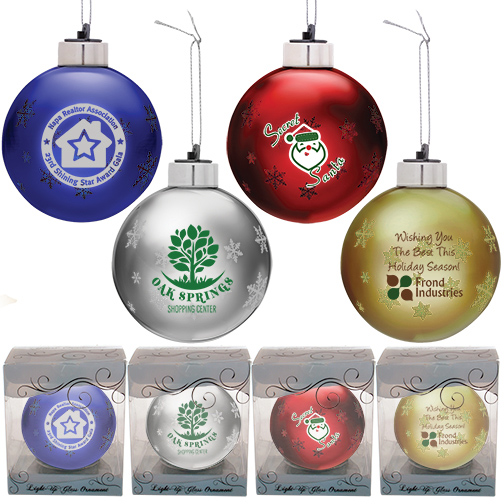 What's Hot Wednesday - Light-Up Glass Ornaments