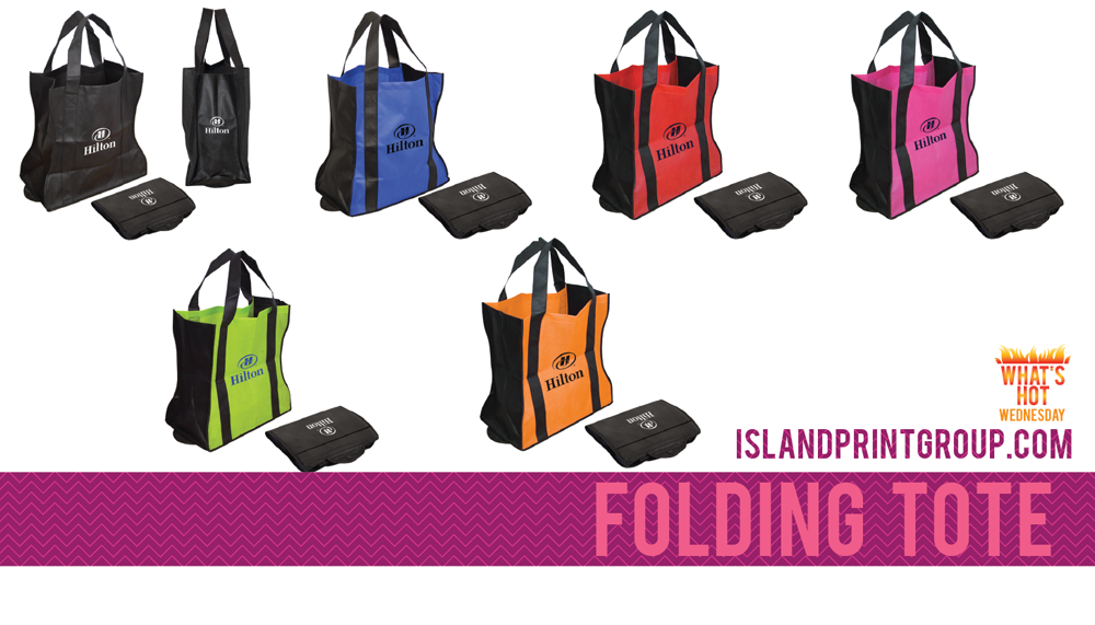 What's Hot Wednesday - Non Woven Tote - Island Business Print Group