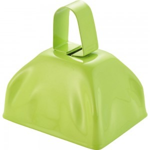Cowbell - Lime Green