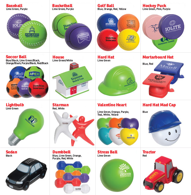 Stress Relievers - Island Business Print Group