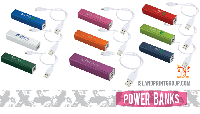 What's Hot - Power Bank - Island Business Print Group
