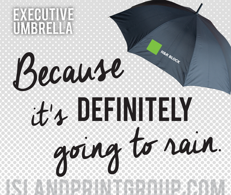 What's Hot - Executive Umbrella - Island Business Print Group - SQUARE SHARE